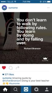 Affirmation Pod - Instagram Images - Failure Redefined 2