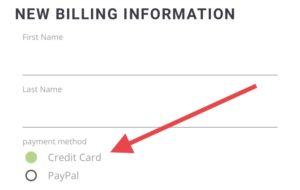 Affirmation Pod Premium Access Payment Credit Card